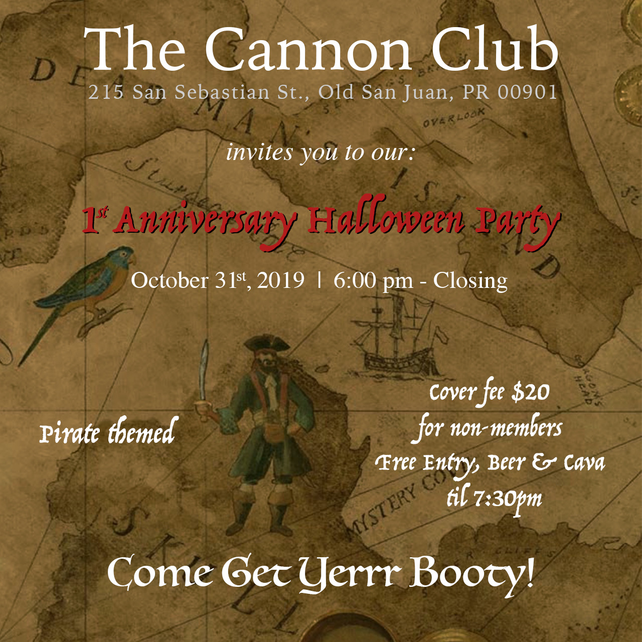 1st Anniversary Halloween Party!