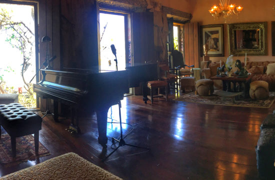 The Music Room in the Cannon Club