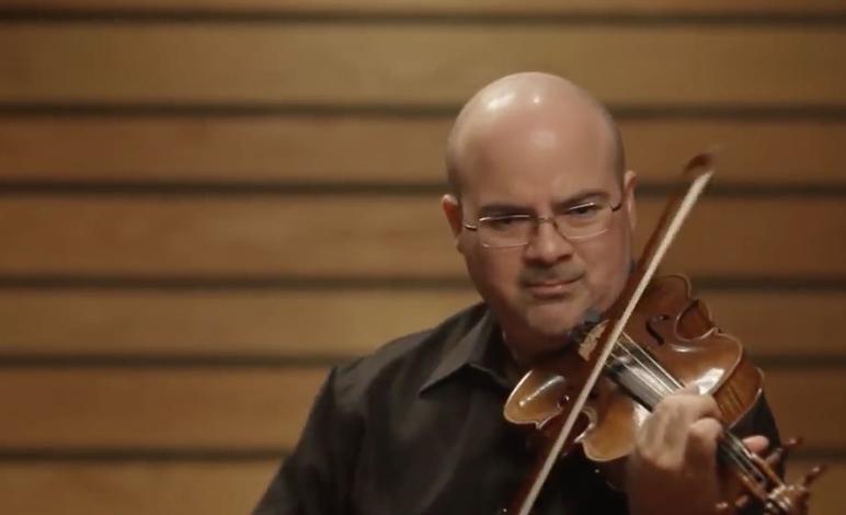 Guillermo e Ivonne Figueroa Violin & Piano Rehearsal for CMPR
