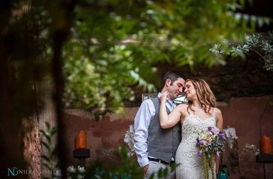 Intimate Wedding in the Sunken Garden