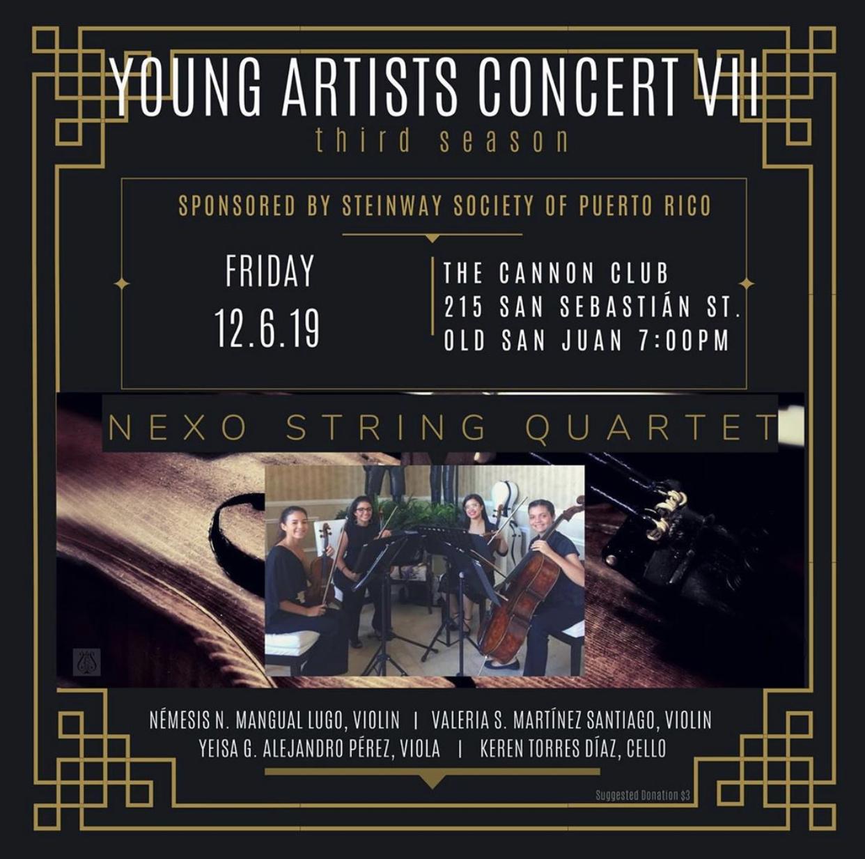 Nexo String Quartet Recital