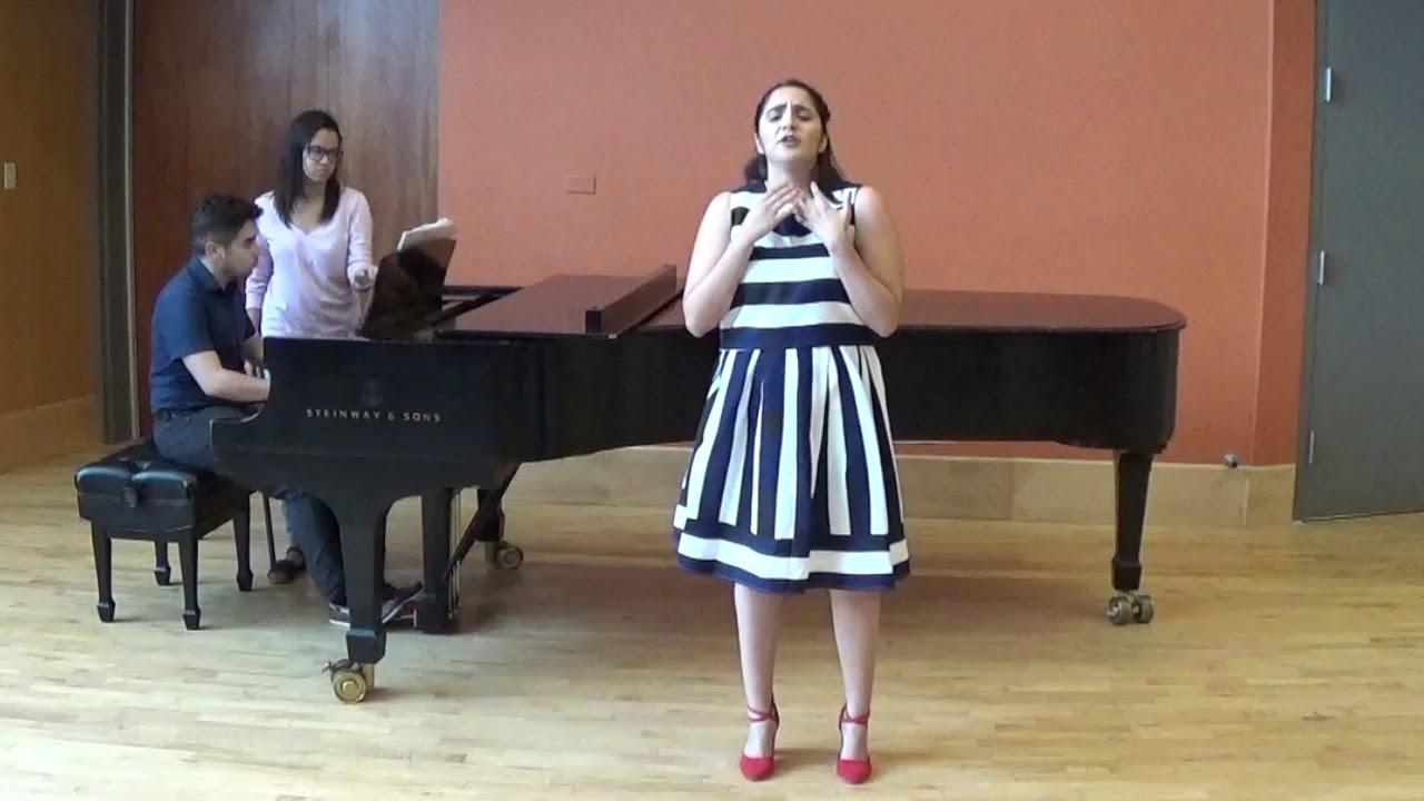 MezzoSoprano Vianca Alejandra Orama in Concert